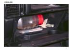 I proiettili rinvenuti nel vano porta oggetti