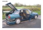 Vista esterna della Vauxhall Cavalier