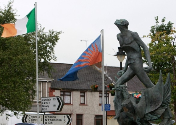 Crossmaglen IRA memorial