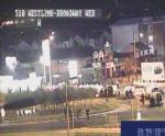 Riot a Broadway, West Belfast