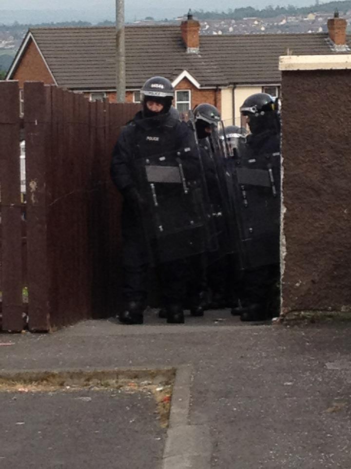Creggan raids 1