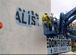 Sandy Row - rimosso murales dedicato all'UFF