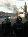 Ardoyne - car burnt 2
