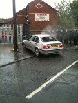 Ardoyne - car burnt