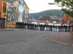 Ardoyne - PSNI in riot gear