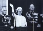 Lord Mountbatten, Regina Elisabetta II, Principe Filippo Duca di Edinburgo
