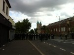 The Twelfth Ardoyne 2012 Republican protesters