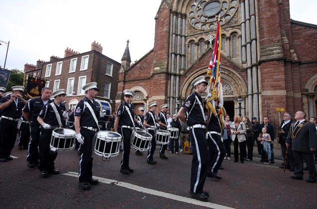 Scontri alla Black Saturday Parade