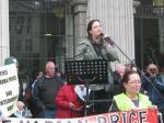 Pauline Mellon, a capo della campagna per la liberazione di Marian Price