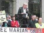 Jerry McGlincey, marito di Marian Price