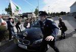 Republican protestors attack car of Tanaiste Gilmore and Frances Fitzgerald