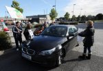 Republican protestors attack car of Tanaiste Gilmore and Frances Fitzgerald