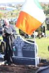 Vol Joe O'Connor, headstone unveiled. Sat 13 October