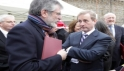 Gerry Adams Enda Kenny