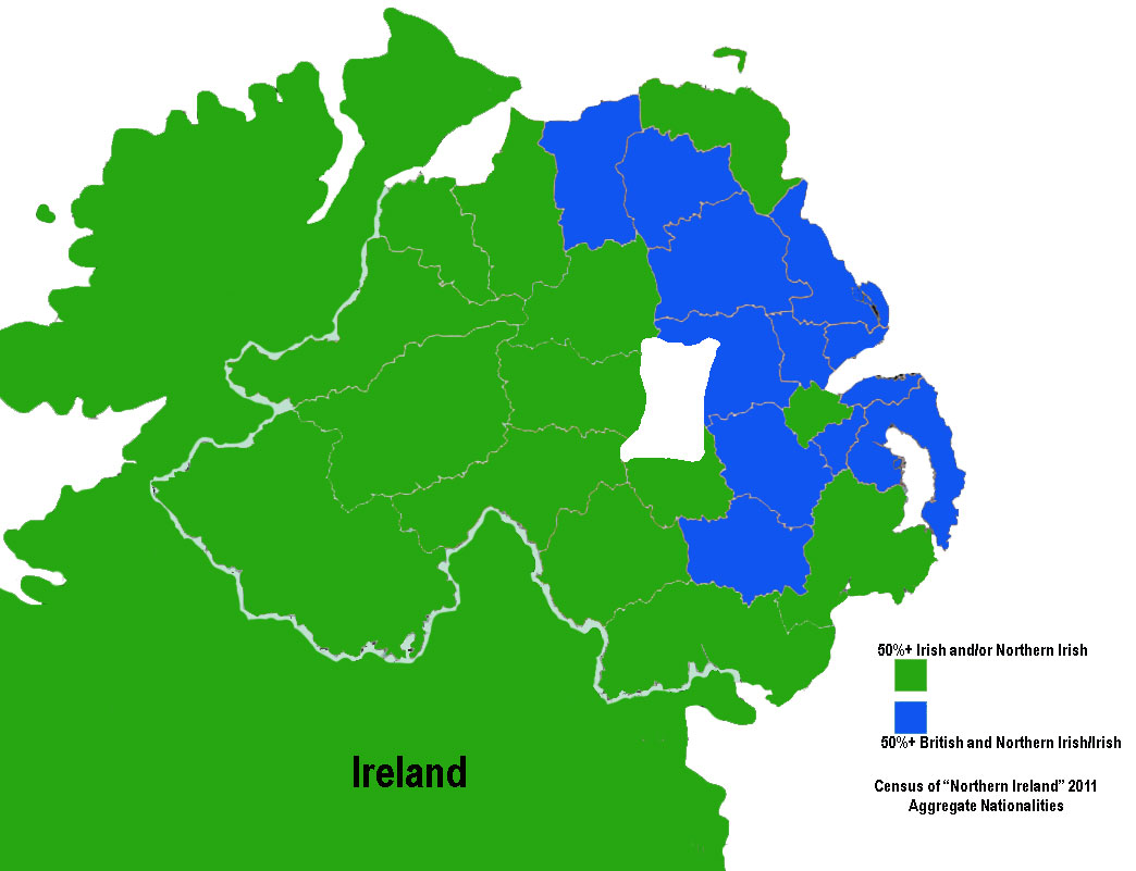 northern ireland vs the protestants Predominantly protestant population, strongly supporting the united  should a  majority in northern ireland so wish, and should the agreement of the people of.