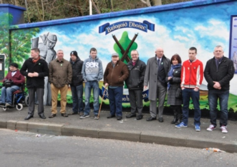 Lecky road republican mural