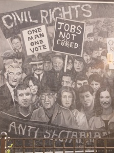 "Derry - ""Civil right (the beginner)"" by Bogside Artist"
