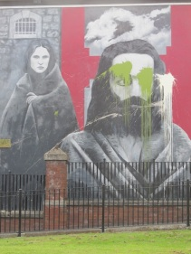 "Derry - ""Hunger strikers"" by Bogside Artist"