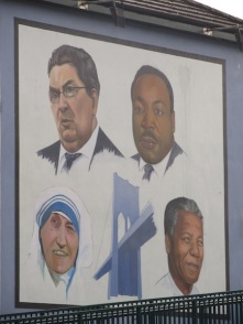 "Derry - ""A tribute for John Hume"" by Bogside Artist"