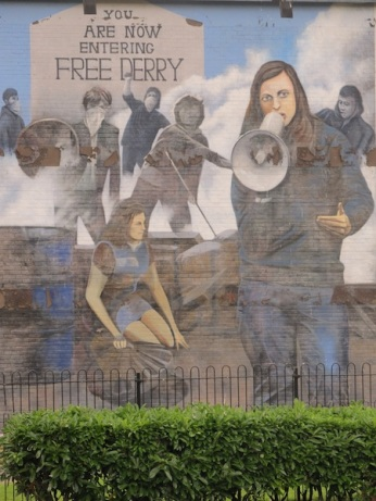 "Derry - ""Bernadette"" by Bogside Artist"