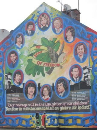 "Derry - ""The spirit of freedom"""