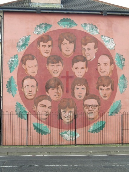"Derry -""Bloody Sunday commemoration"" by Bogside Artist"
