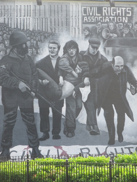 "Derry - ""Bloody Sunday"" by Bogside Artist"