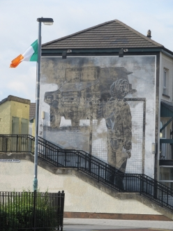 "Derry - ""The Saturday Matinee"" by Bogside Artist"