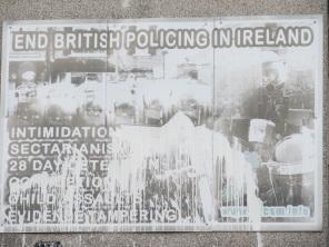 """Derry - """"End british policing in Ireland"""""""