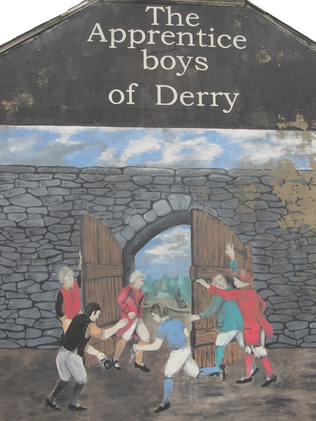 "Derry - ""The apprentice boys of Derry"""