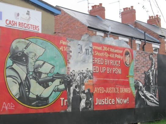 "Belfast - ""Justice for RUC victims"""