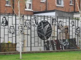 "Belfast - ""Hunger Strikers memorial"""