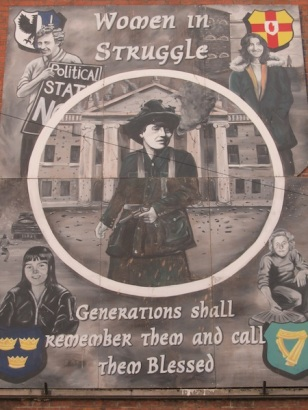 """Belfast - """"Woman in Struggle"""""""