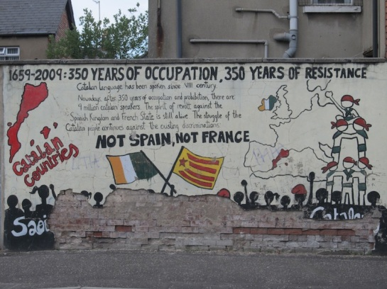 "Belfast - ""Ireland and Catalunia"""