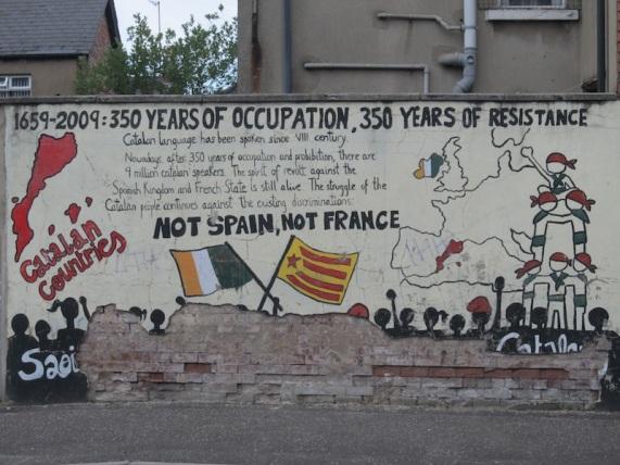 "Belfast - ""Ireland and Catalunia"""