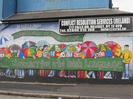 "Belfast - ""Support Irish language"""