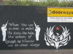 Belfast - Tales of IRA actions