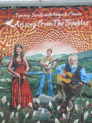 "Belfast - ""Arising from the ""Troubles"""