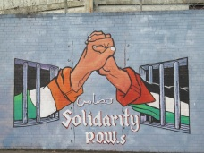 "Belfast - ""Irish and Palestinian P.O.W.S."""