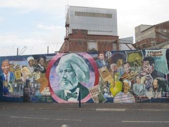 Belfast - Frederick Douglass, attivista per i diritti civili americani