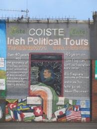 Belfast - Political tour