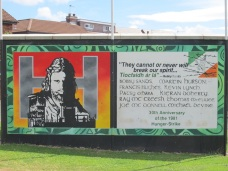 "Belfast - ""Hunger Strikers"""