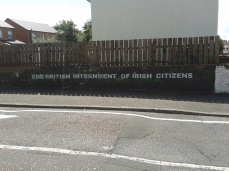 "Belfast - ""End Internment"""