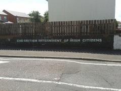 """Belfast - """"End Internment"""""""