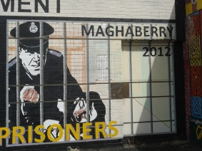 "Belfast - ""Maghaberry violence 2012"""