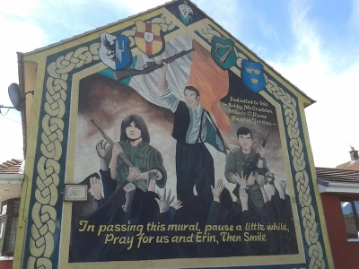 Belfast - O'Rawe, McCrudden and Jordan - PIRA