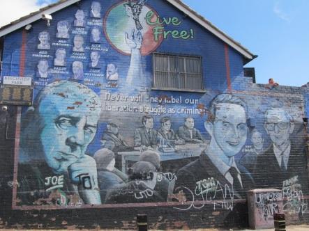 "Belfast - ""Memorial mural for Joe Cahill"""