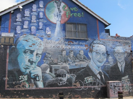 "Belfast - ""Memorial mural for Joe Cahill"""