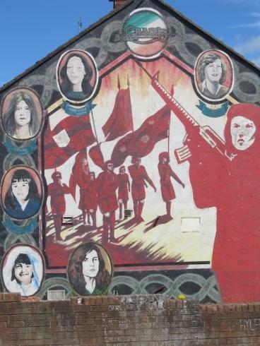 "Belfast - ""IRA Womans"""