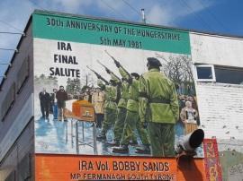 "Belfast - ""Ira final salute"""